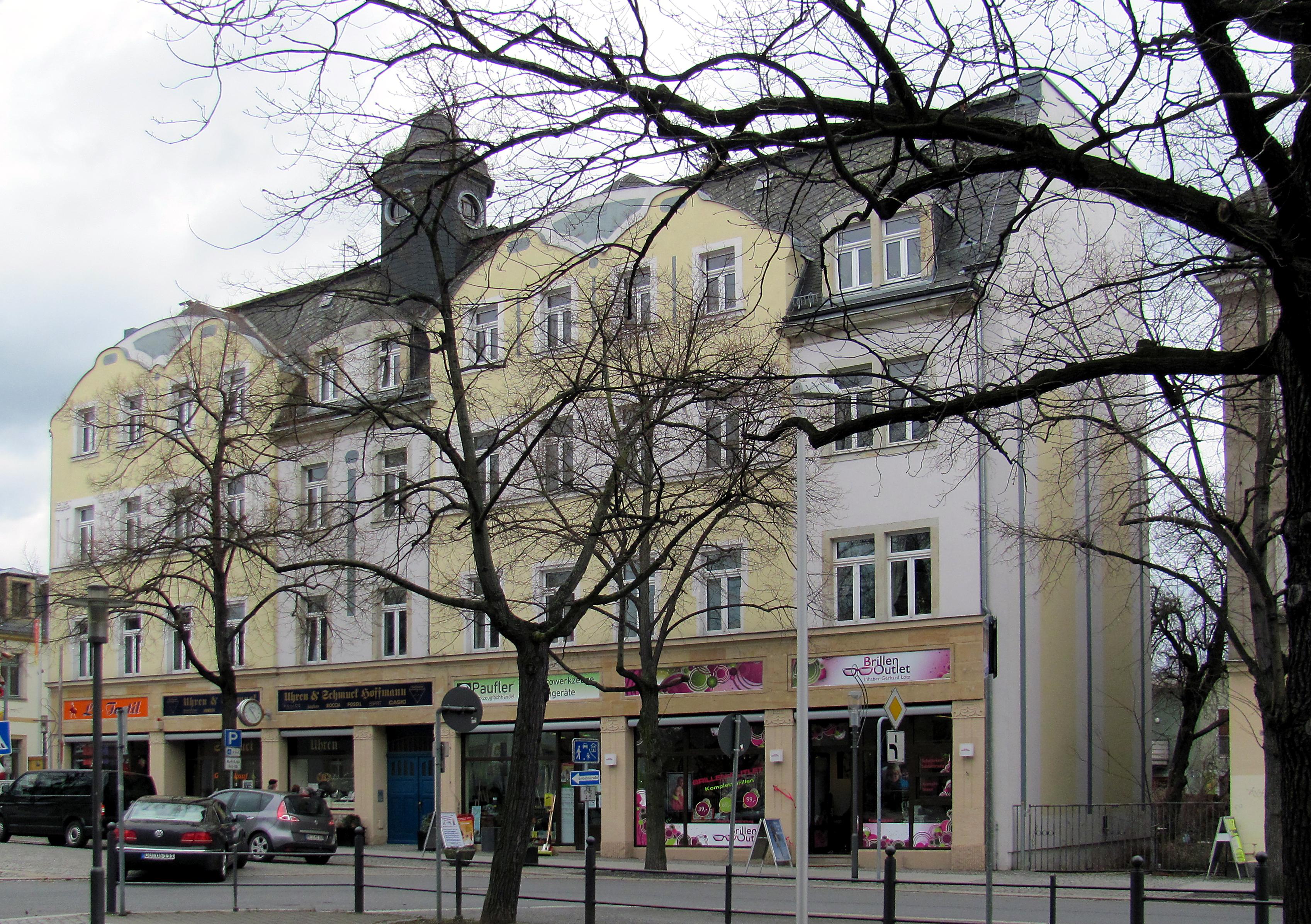 Architekt Radebeul file radebeul wohn und geschäftshaus hauptstraße 11 jpg wikimedia