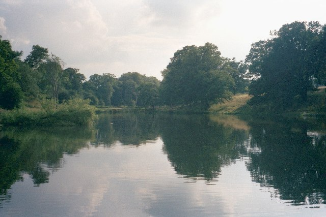 Reservoir in Cornbury Park - geograph.org.uk - 31713