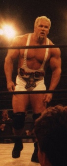 Steiner during a taping of Nitro in 1998