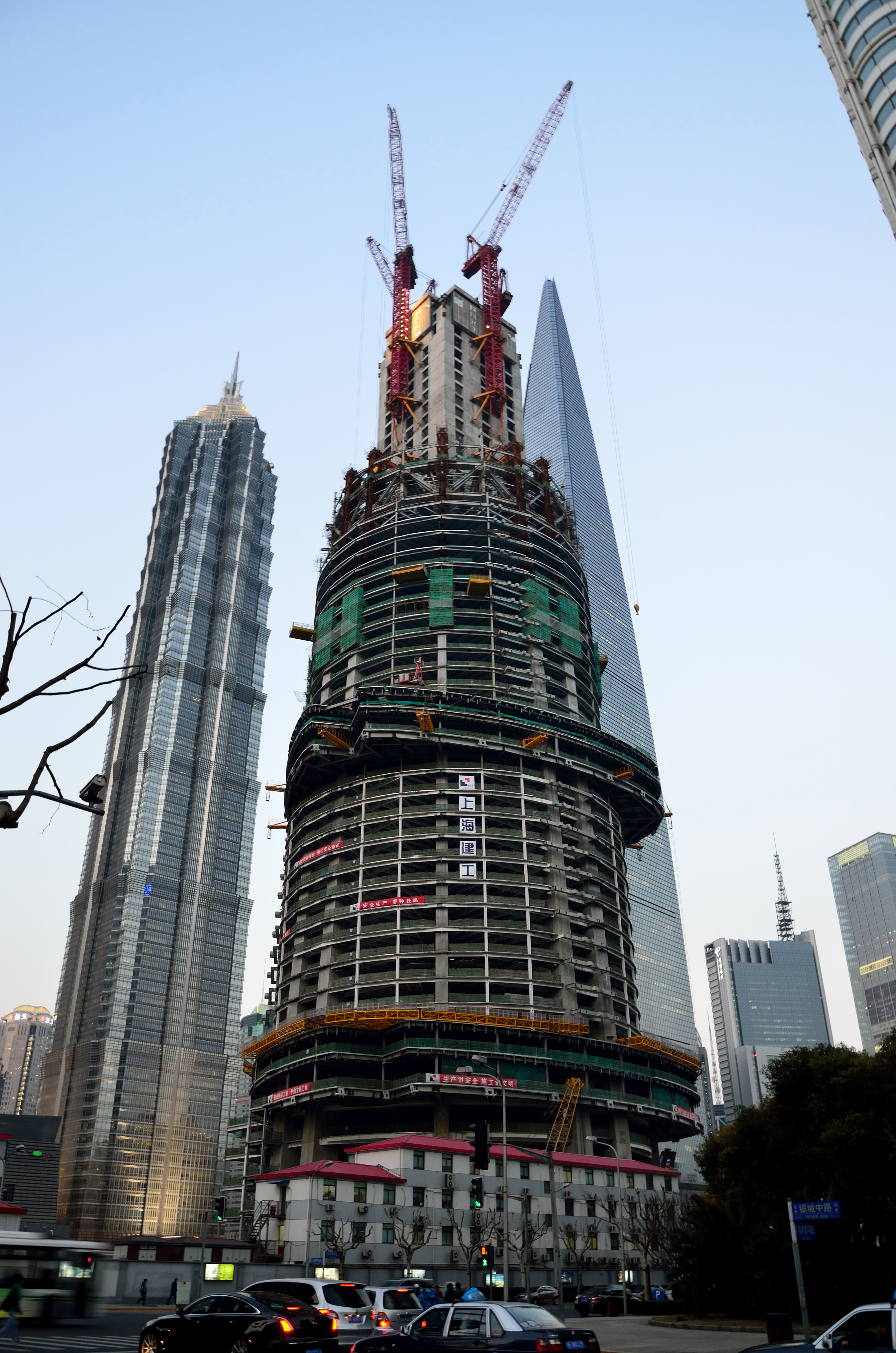 New Picture/Photo of Shanghai Tower 上海中心大厦