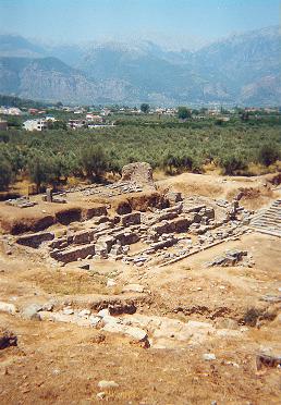 Ruiny Starożytnej Sparty