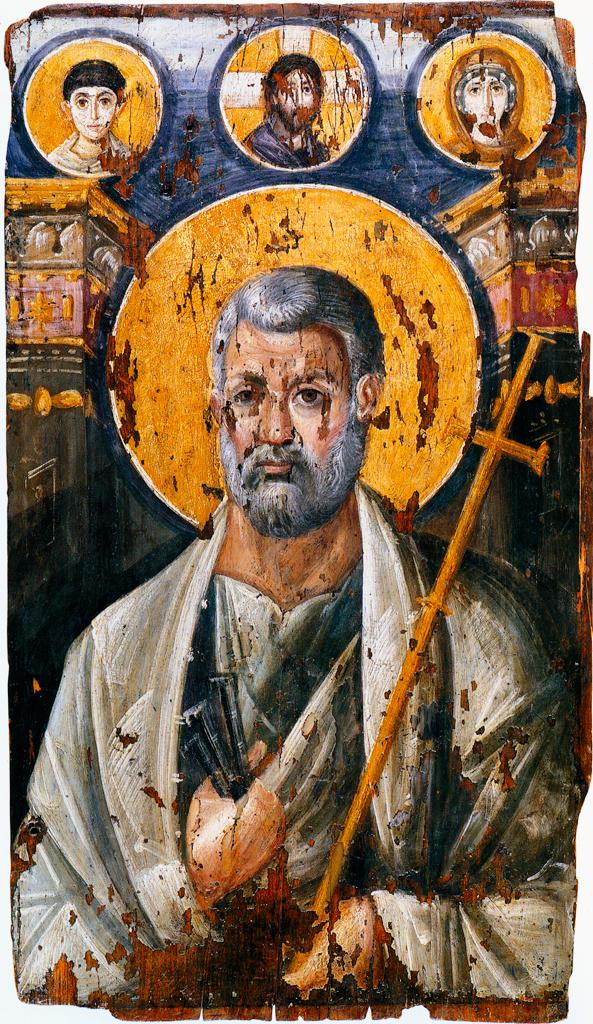 St. Peter (portrayed as a Roman consul).jpg