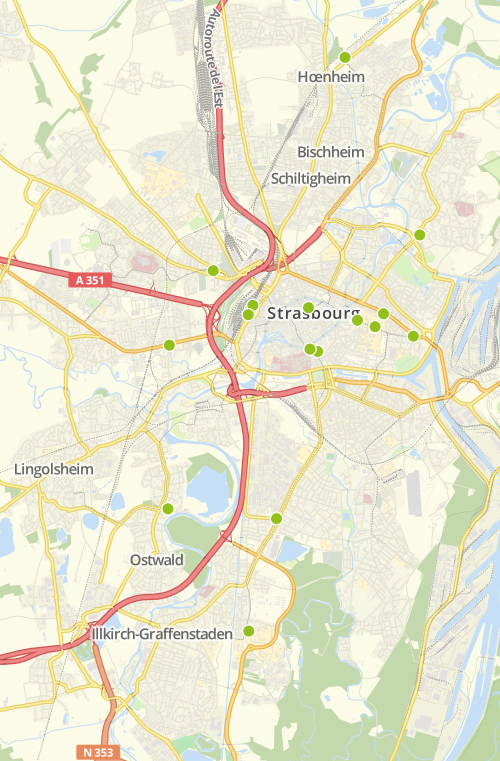 Stations Vélhop
