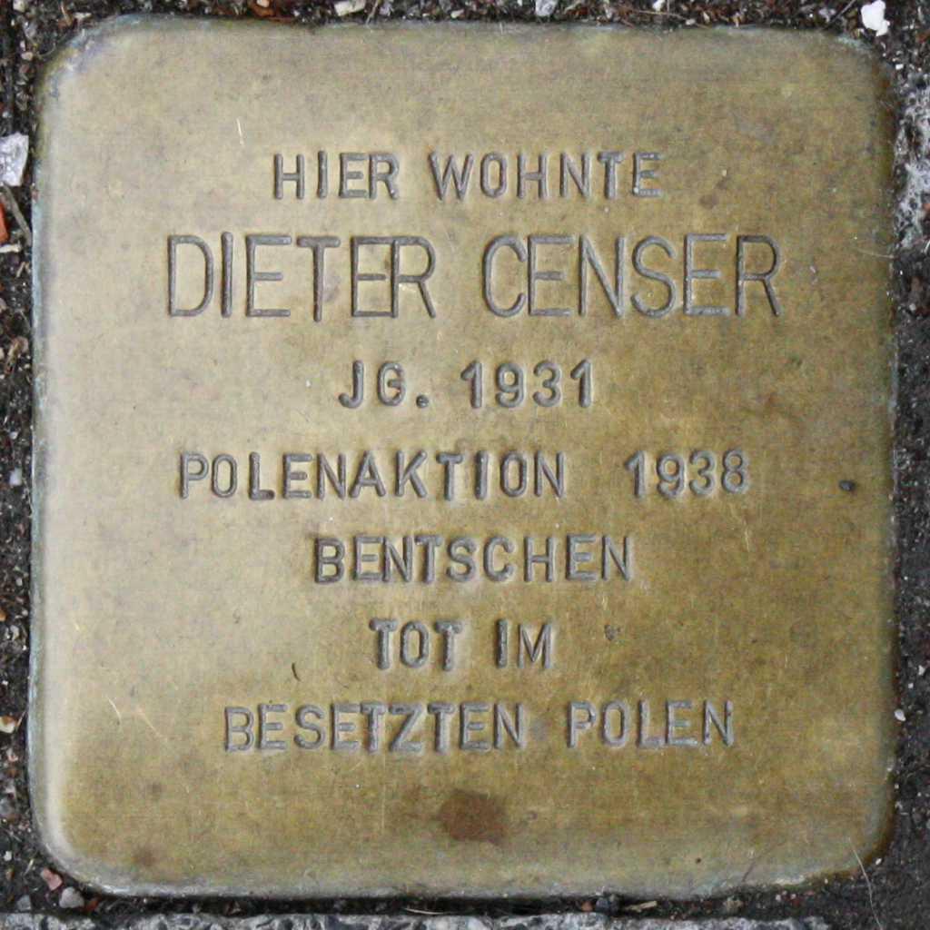 Stolperstein Dieter Censer Wuppertal.jpg