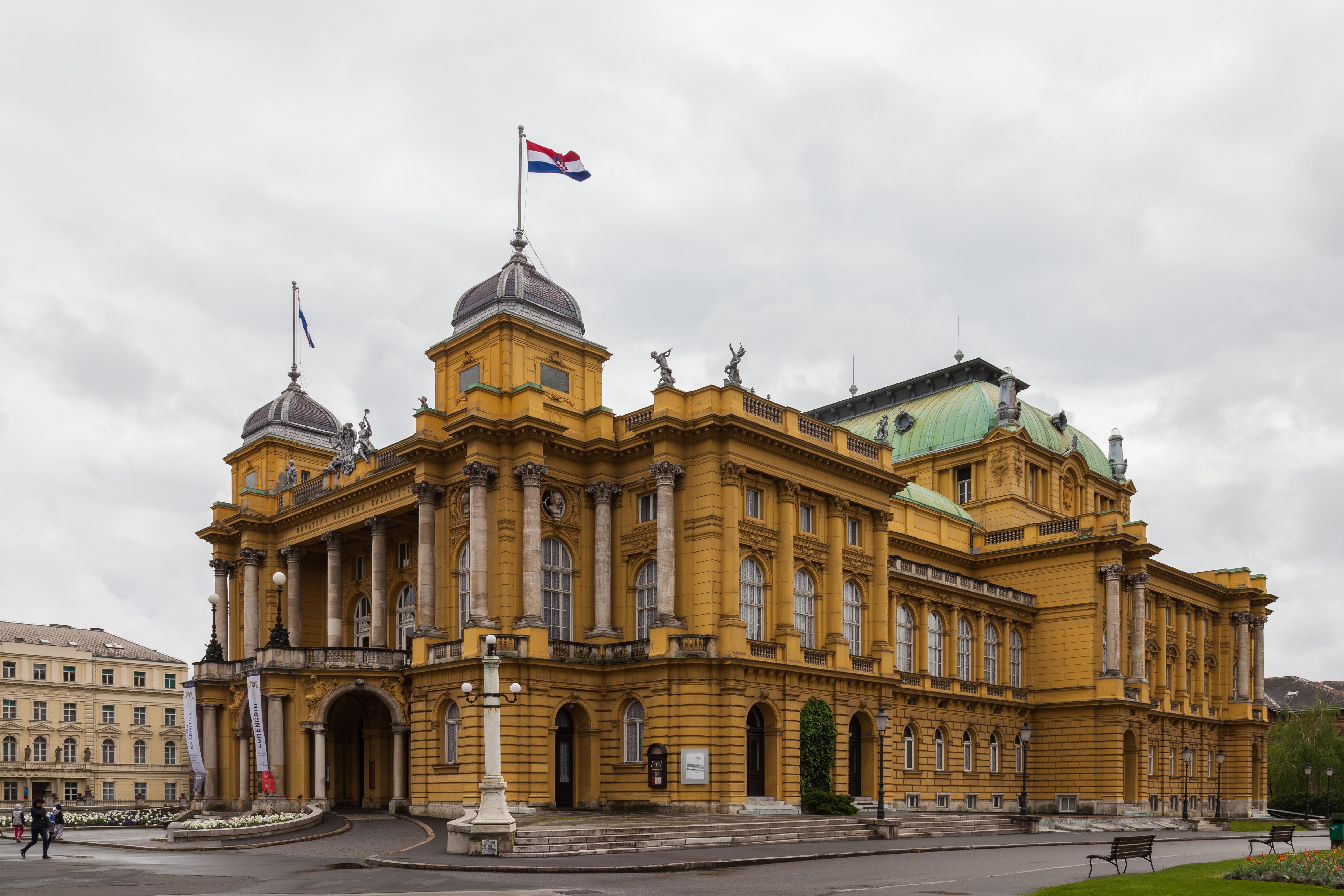 Croatian National Theatre In Zagreb Wikipedia