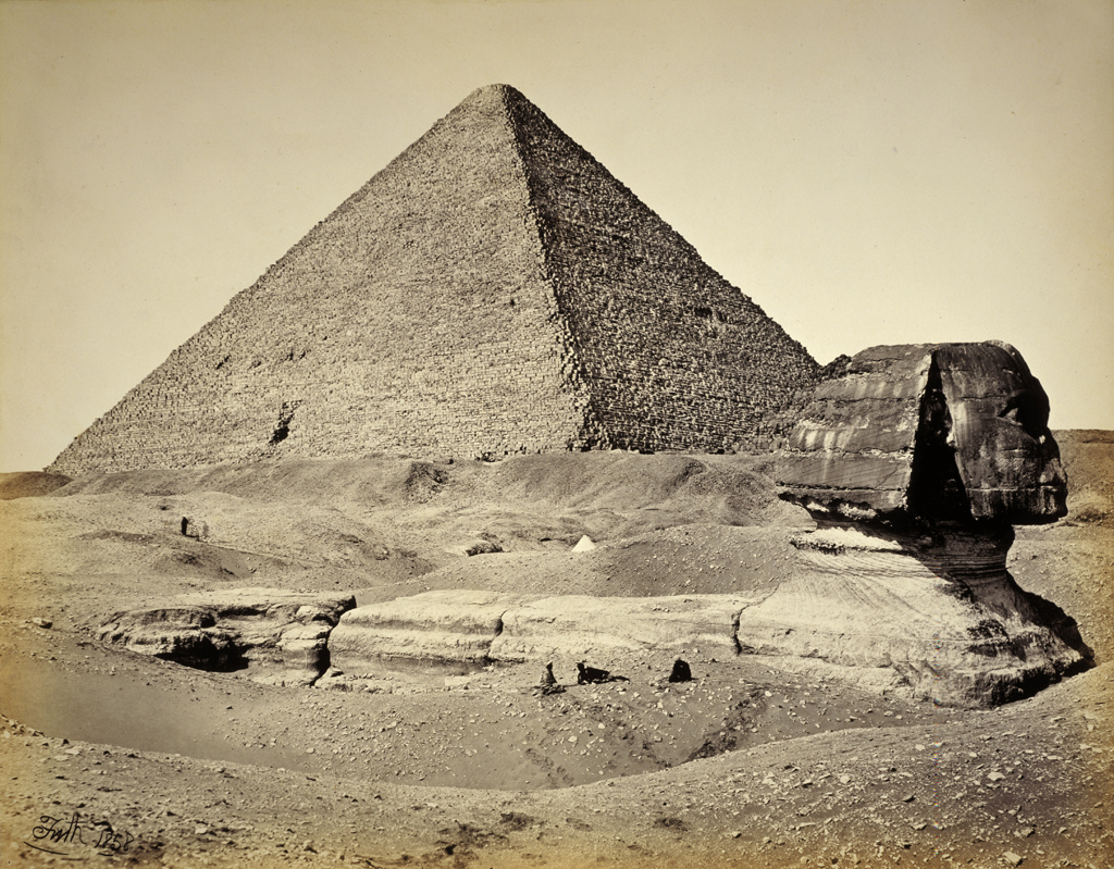 file the great pyramid and the sphinx jpg wikimedia commons