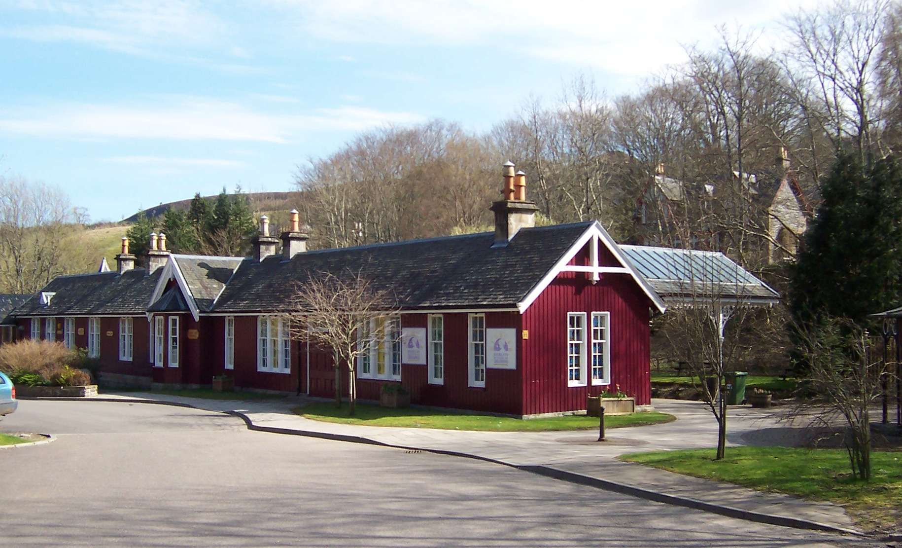 In Law Cottage File The Old Station Strathpeffer Jpg Wikimedia Commons