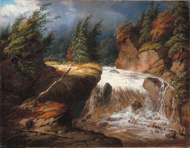 The Passing Storm, Saint-Ferréol - Cornelius Krieghoff