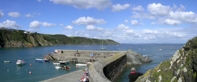 The harbour, Gorran Haven - geograph.org.uk - 25786