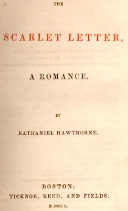 an analysis of arthur dimmesdales quest in the scarlet letter a novel by nathaniel hawthorne Reverend arthur dimmesdale story gives details of how hawthorne came to write the scarlet letter the scarlet letter by nathaniel hawthorne.