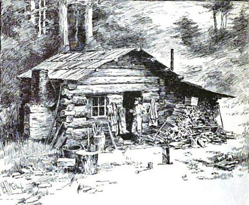 file trappers cabin humboldt jpg wikimedia commons log cabin graphics clipart log cabin clipart