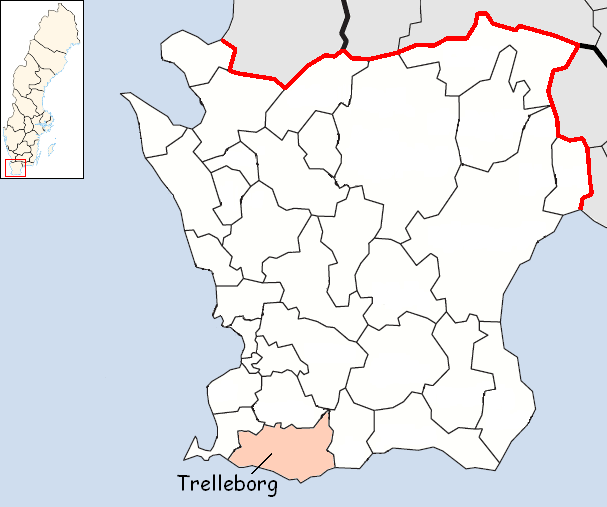 Berkas:Trelleborg Municipality in Scania County.png