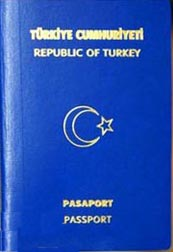 Biometrical Turkish Passport