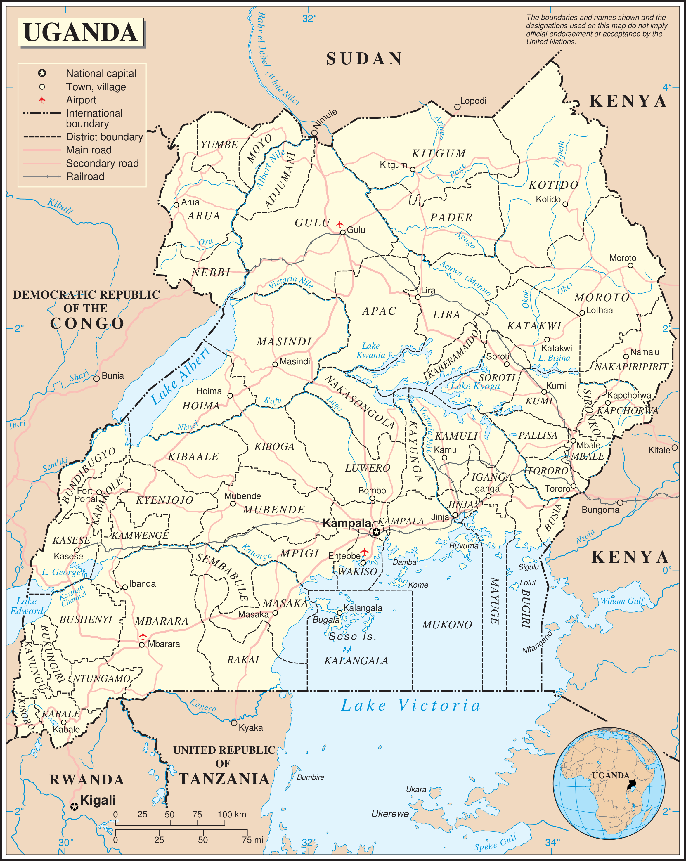 FileUnugandapng Wikimedia Commons - Map of uganda
