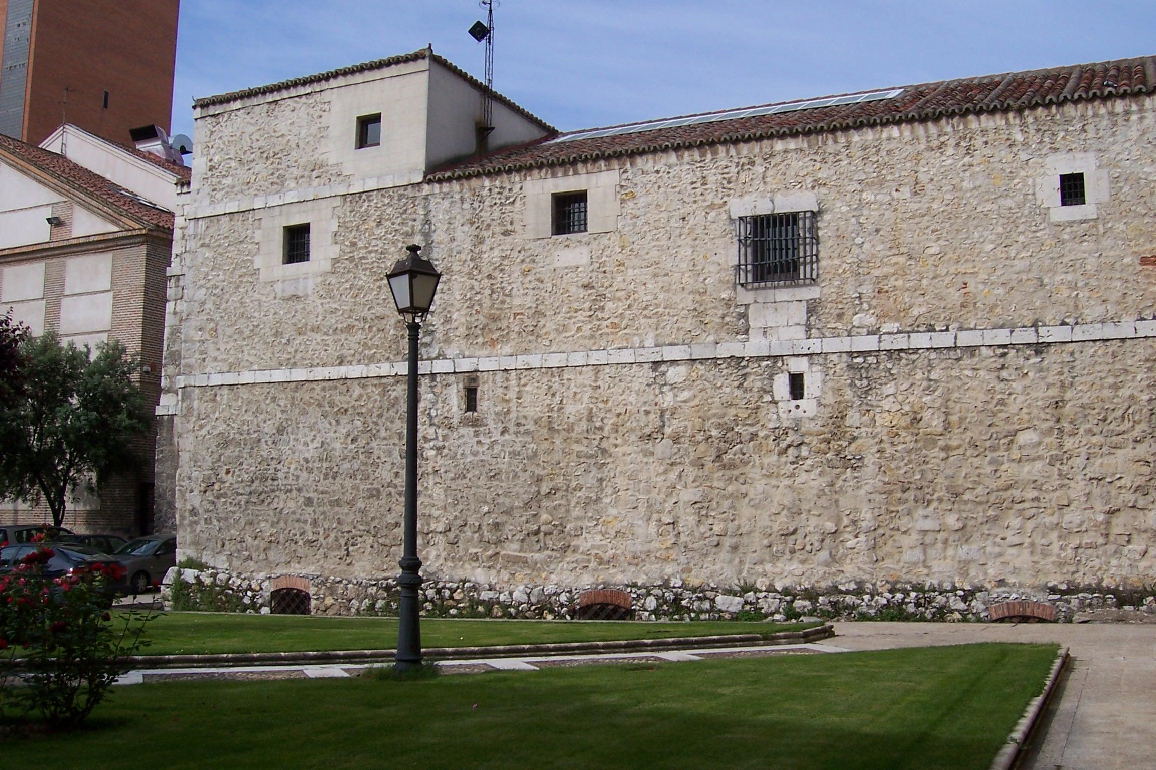 File valladolid palacio vivero parte trasera for Viveros valladolid