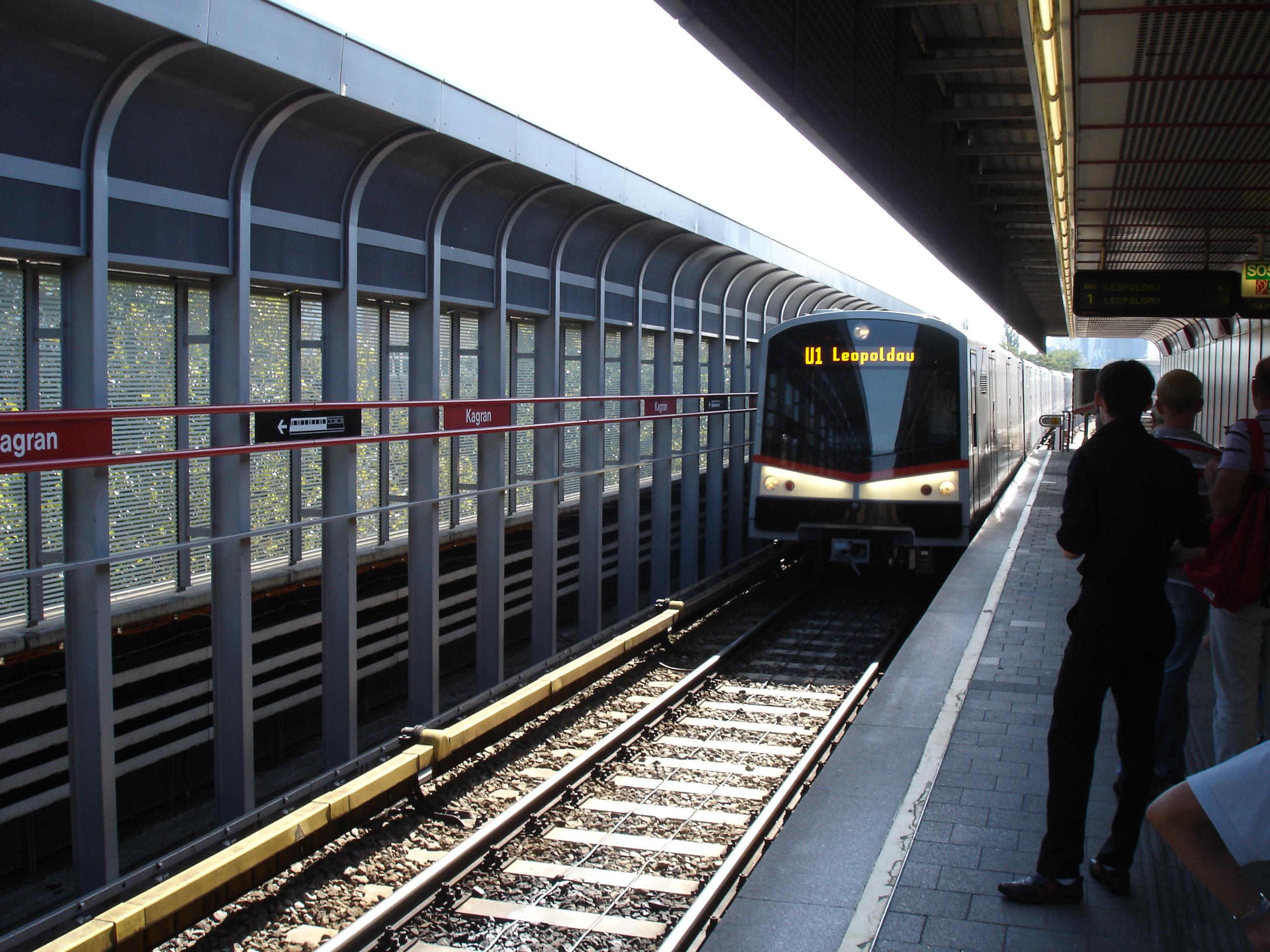 Vienna Austria u Bahn Vienna U-bahn U1.jpg