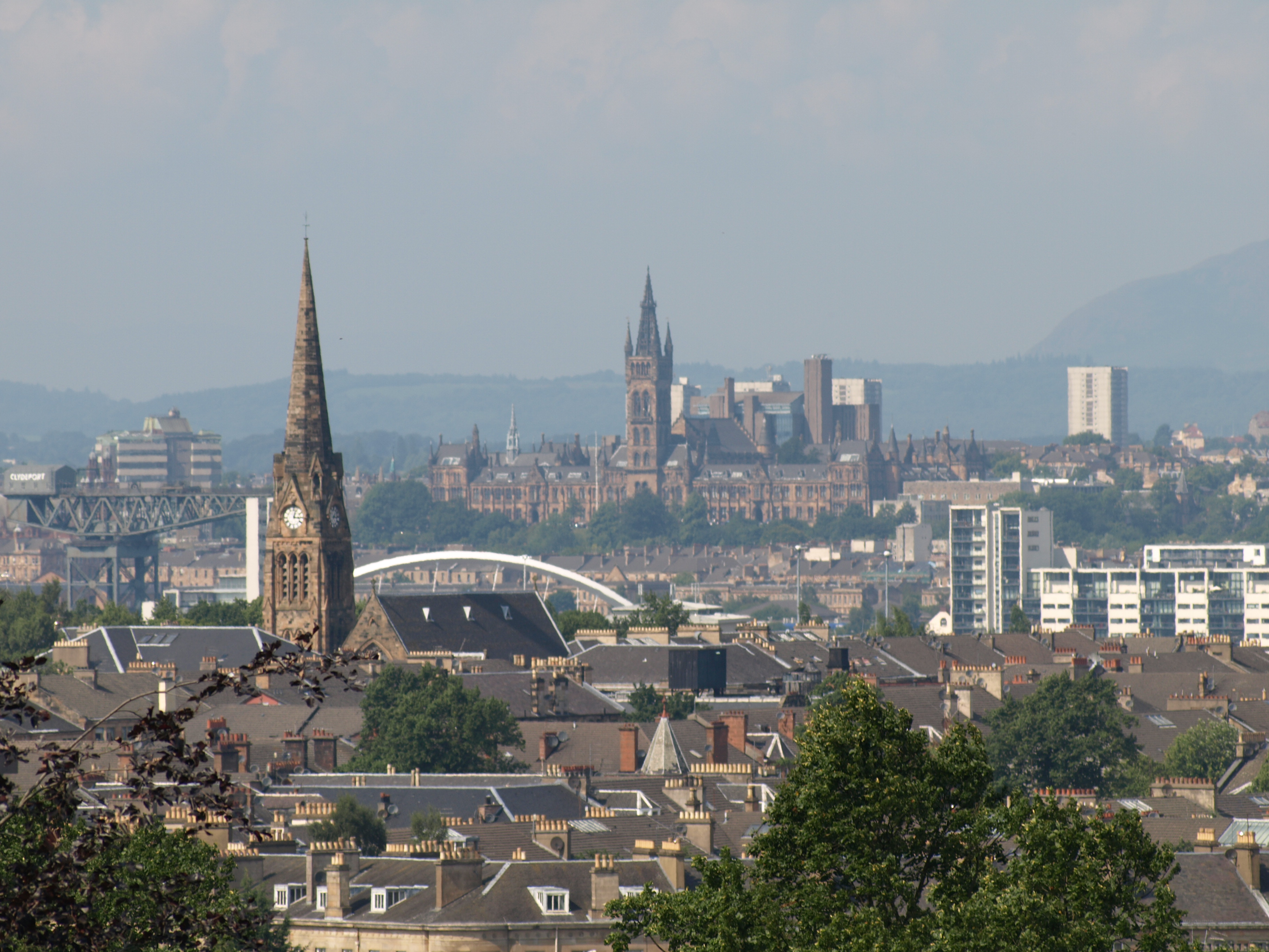 File:View of Glasgow from Queens Park.jpg - Wikipedia, the free ...