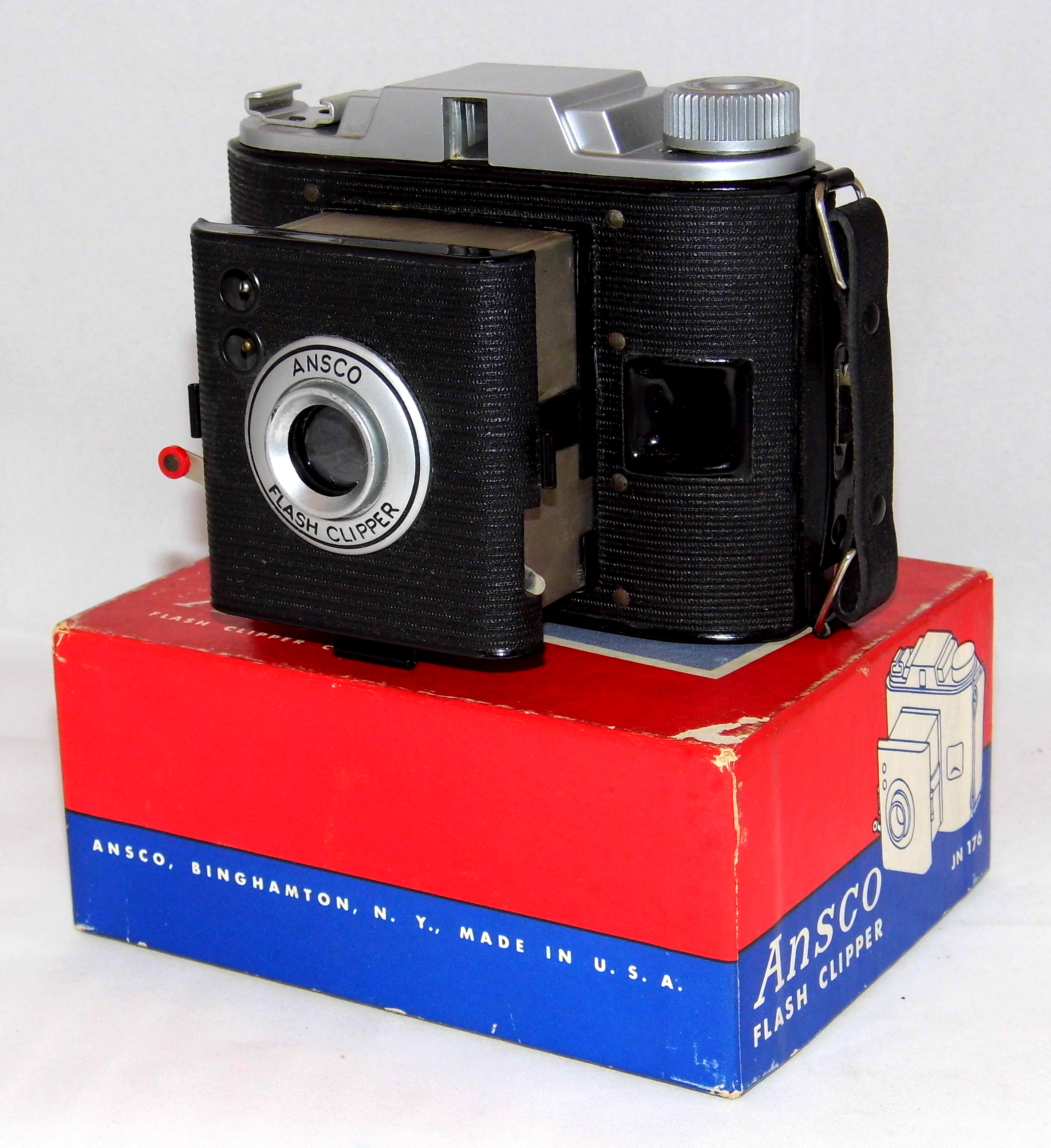 file vintage ansco flash clipper camera model jn 176 simple point