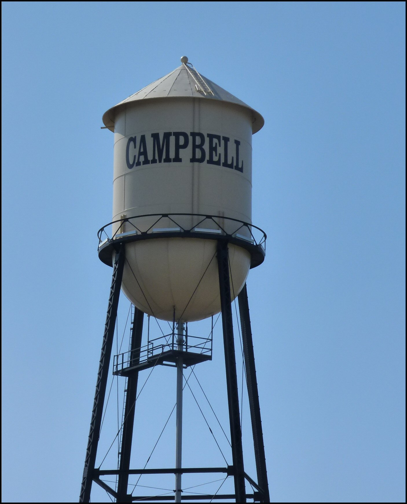 File:Water Tower, Campbell, CA   Panoramio