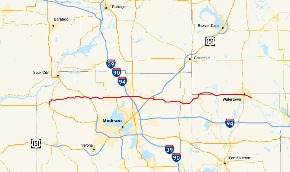 Wisconsin Highway 19 Wikipedia