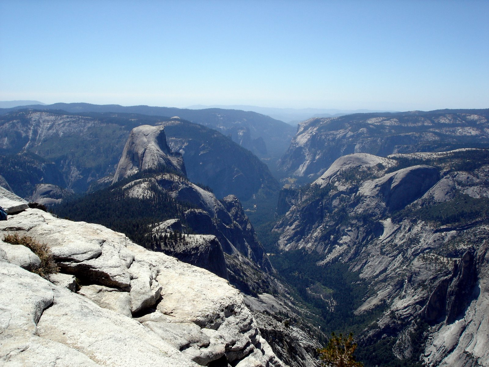 best Yosemite hikes - Cloud's Rest
