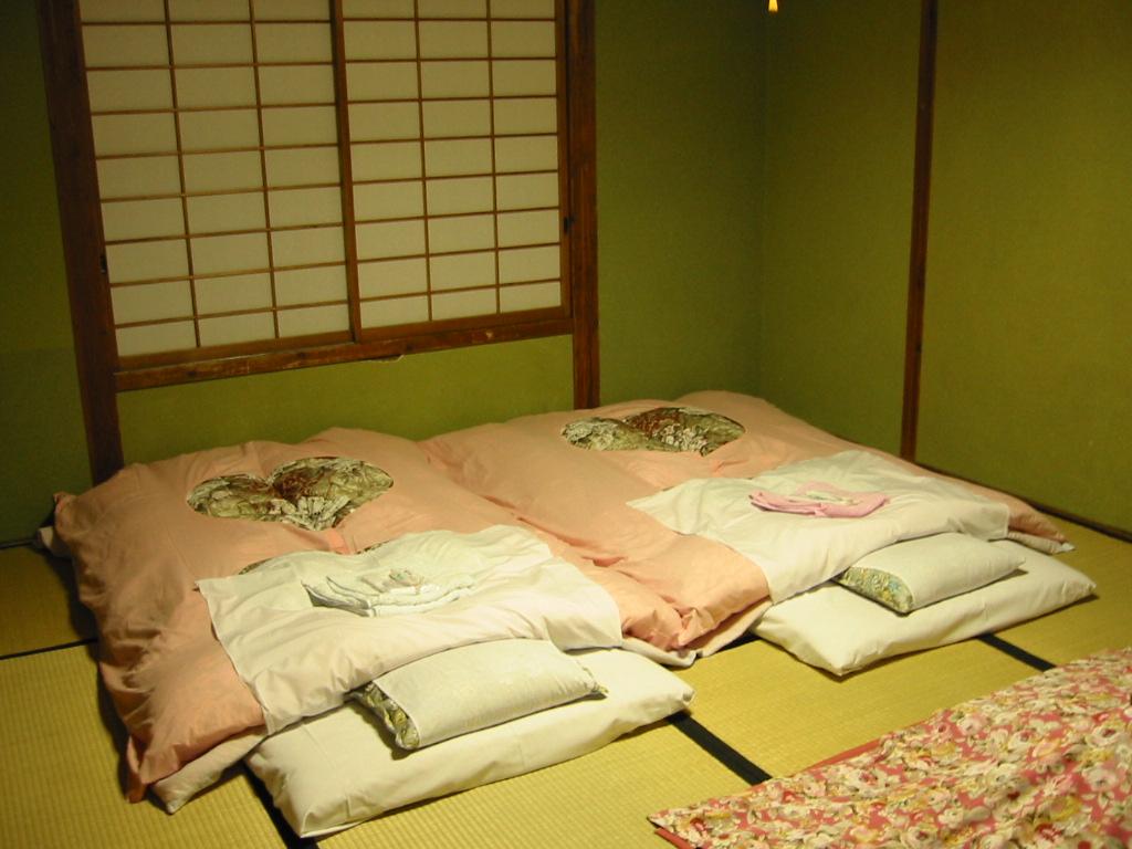 Japanische Betten futon