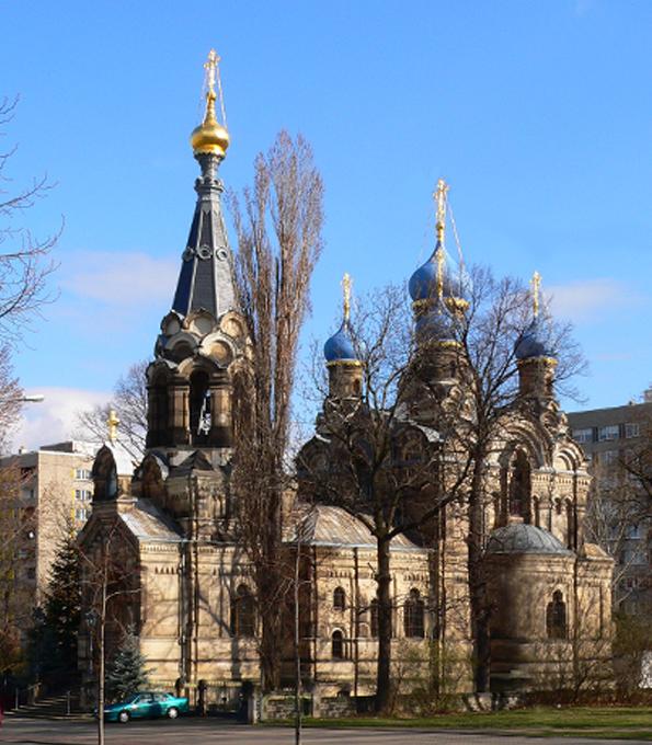 Церковь Преподобного Симеона Дивногорца в г. Дрезден