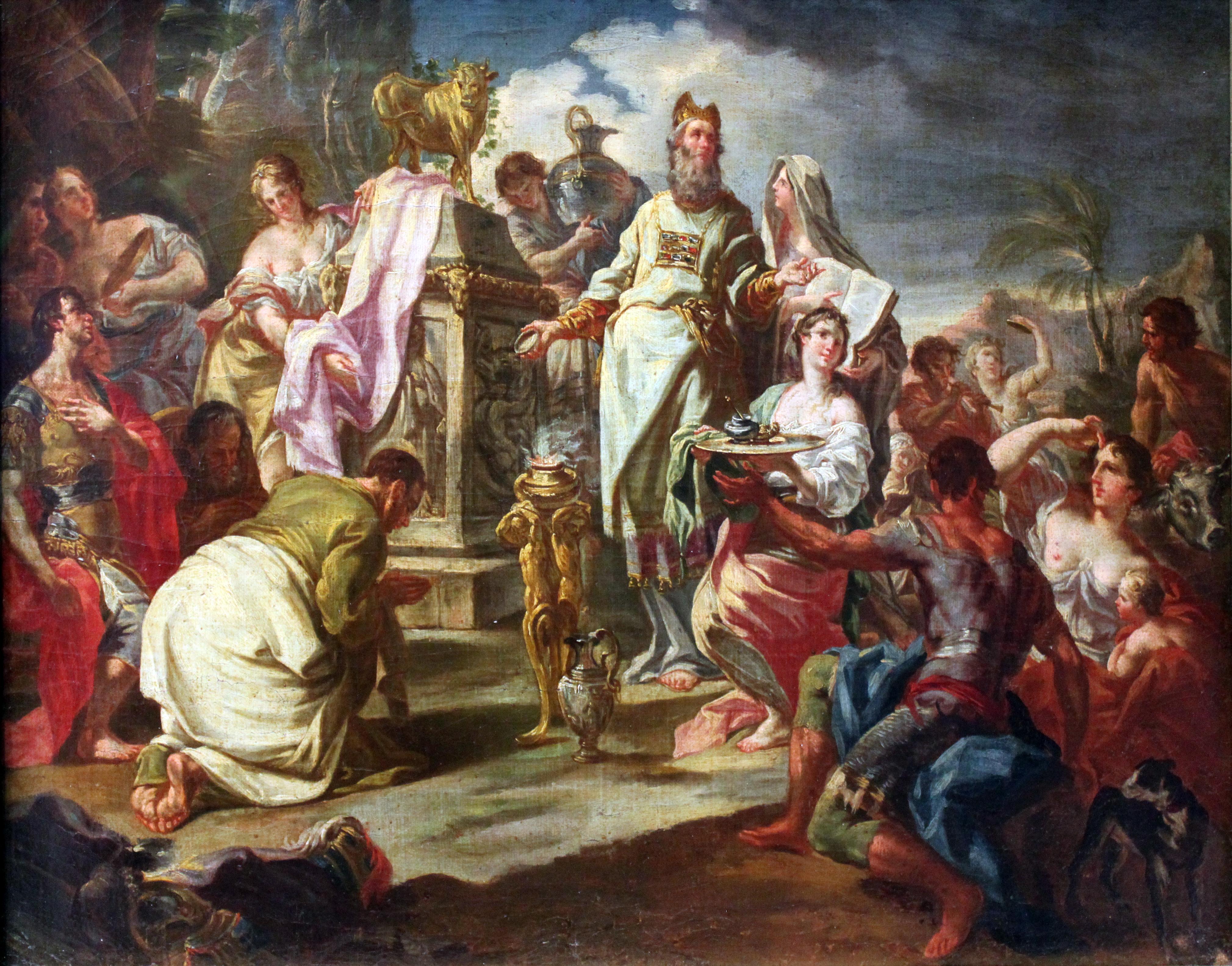 File:1730 Anbetung des Goldenen Kalbes anagoria.JPG