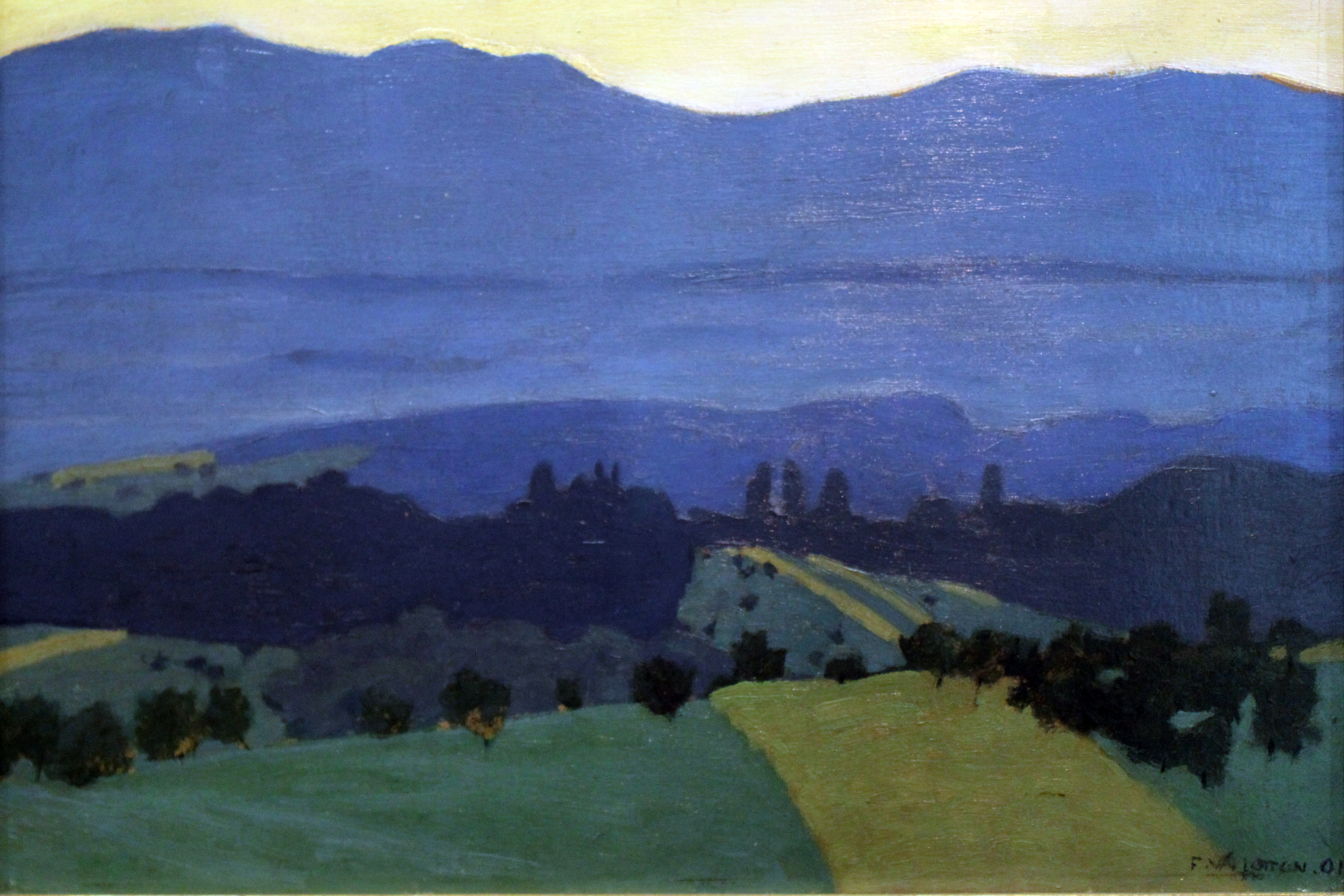 File 1900 Vallotton Jura Landschaft Bei Romanel Anagoria Jpg