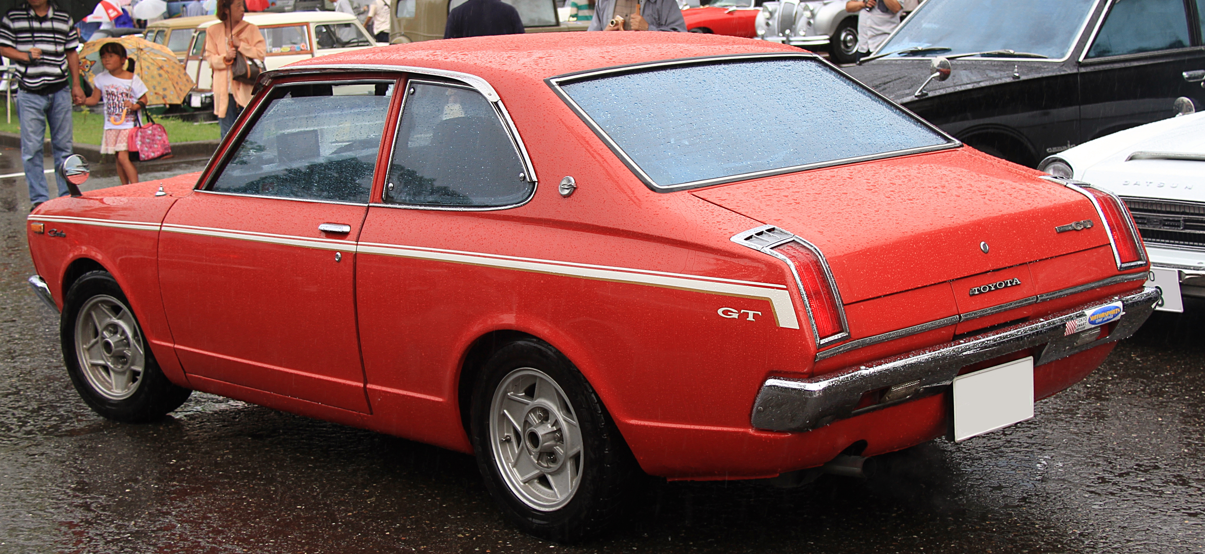 File 1972 Toyota Carina 1600gt Rear Jpg Wikimedia Commons