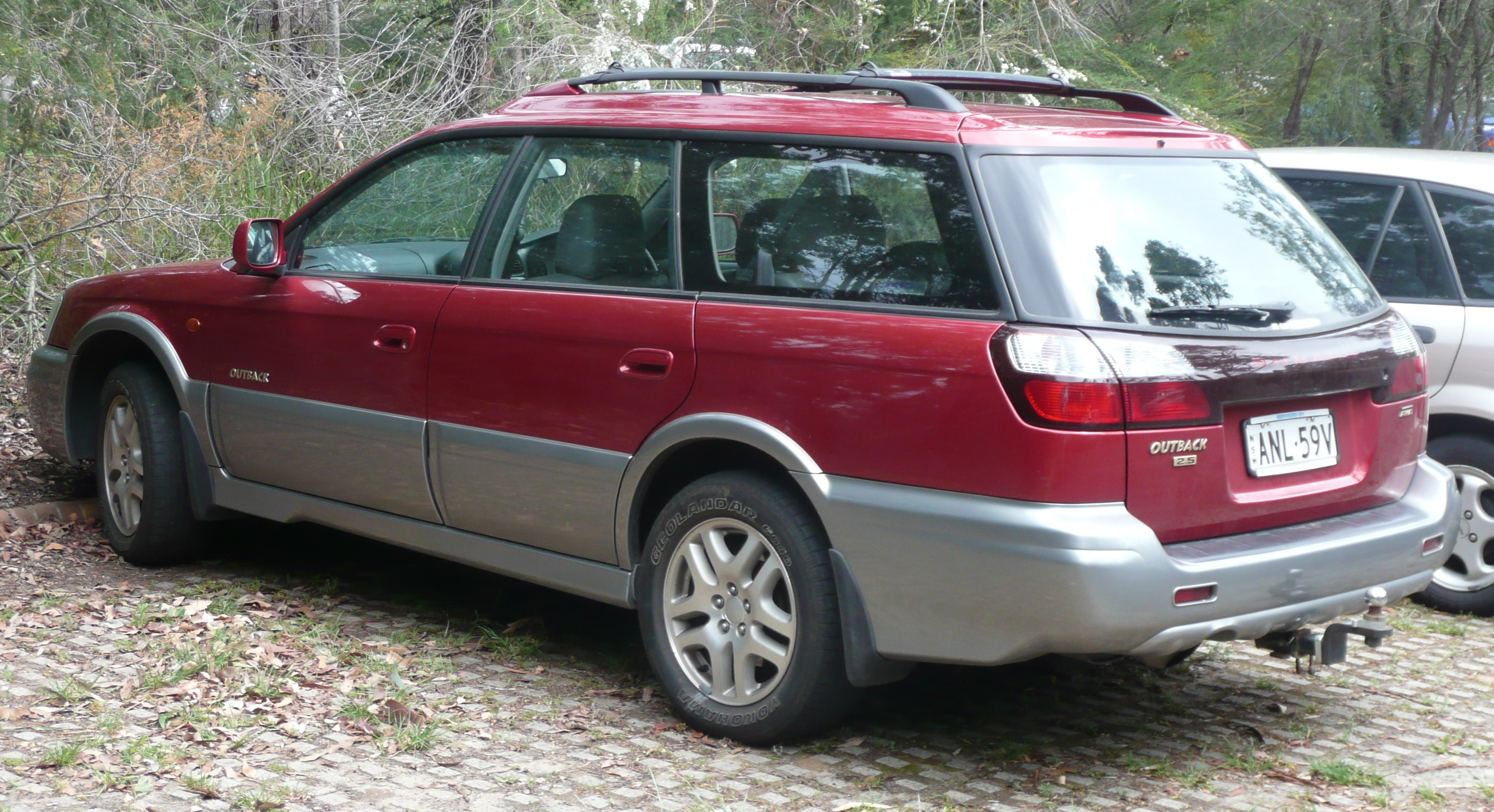 Subaru Older Models >> File:2003 Subaru Outback (BH9 MY03) Luxury station wagon ...