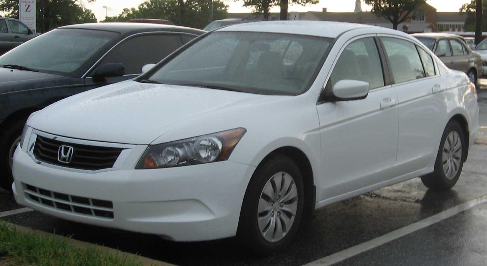 Marvelous File:2008 Honda Accord LX Sedan