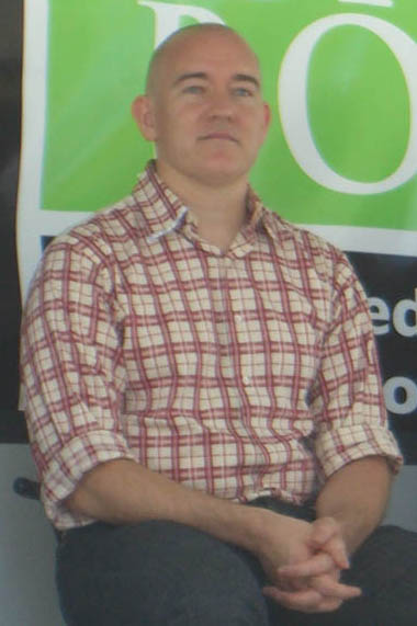 Peck at the 2009 [[Brooklyn Book Festival]]