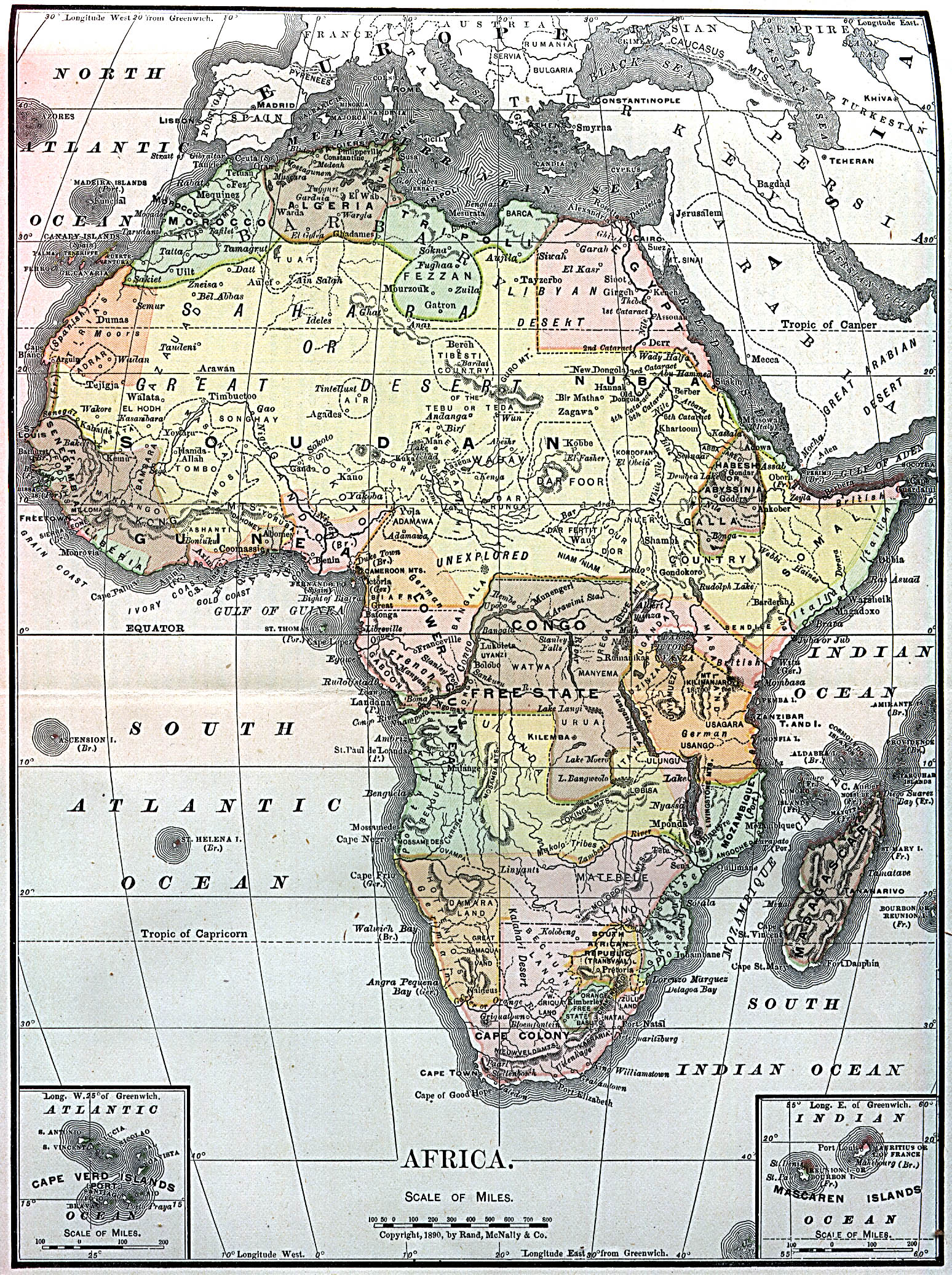 Map Of Africa 1890 File:Africa 1890.   Wikipedia