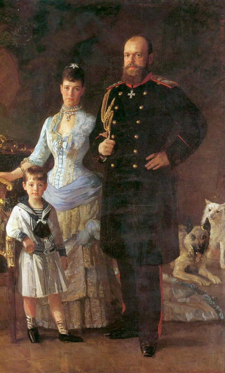 Александр III с женой и son.jpg