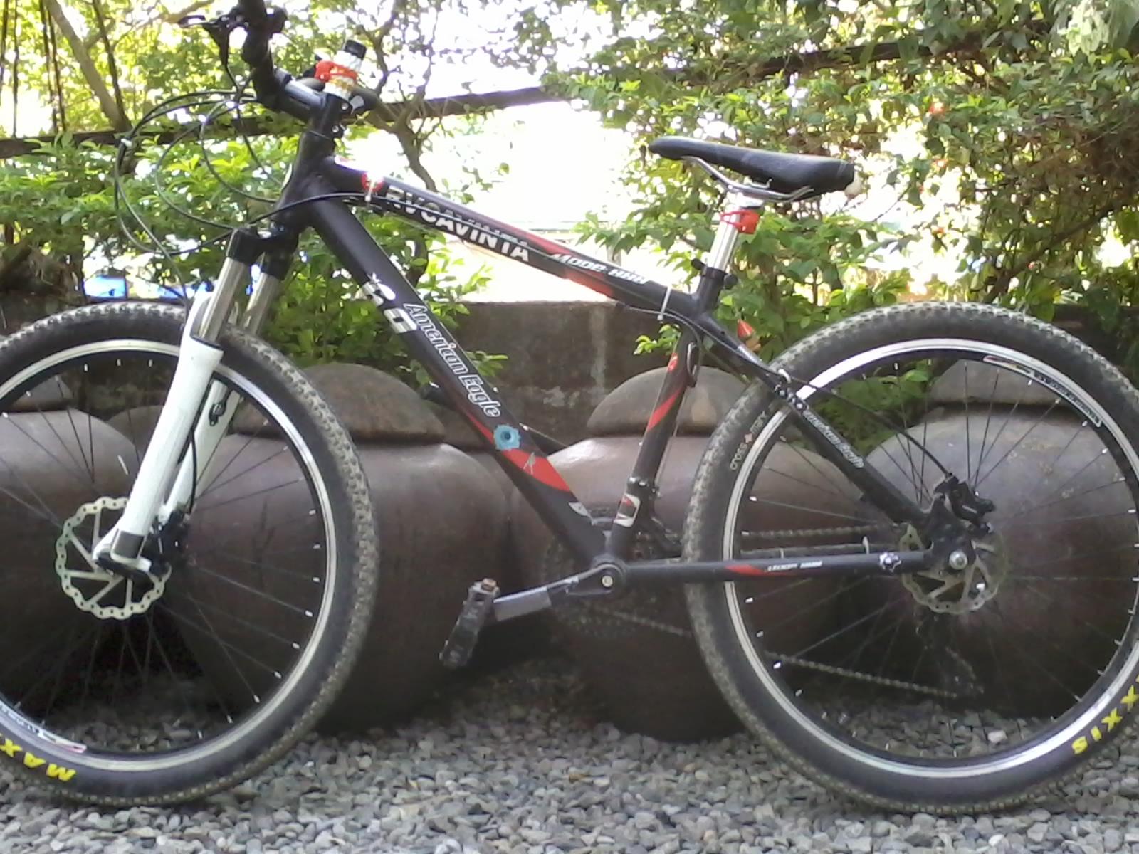 Американский байк горный велосипед
