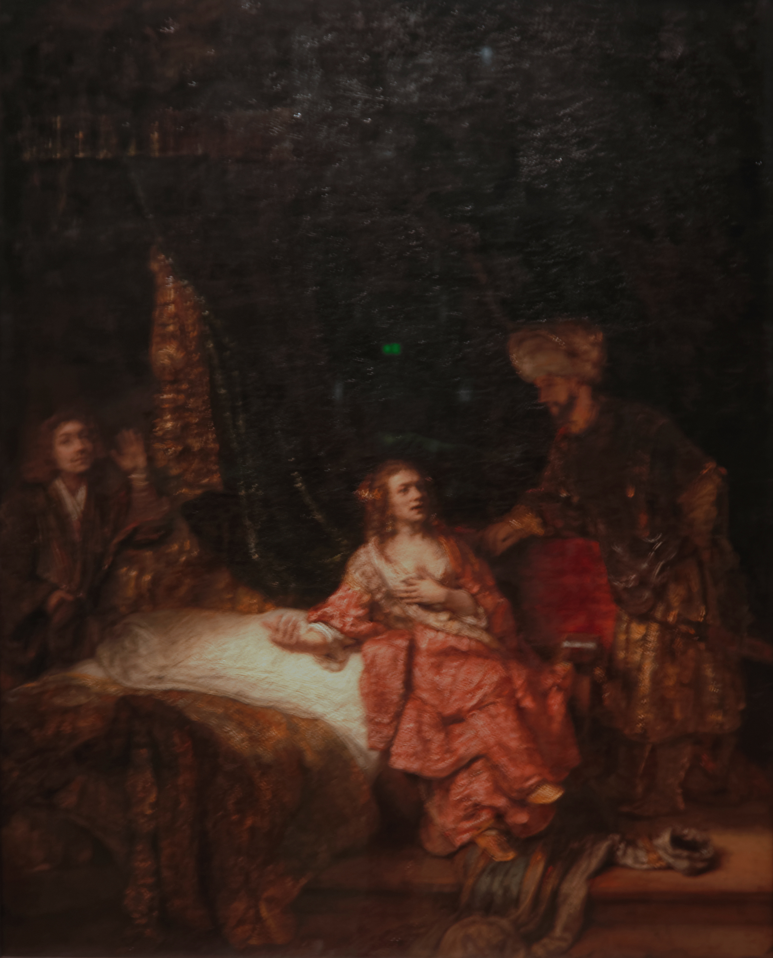an analysis of the colors of rembrandts joseph accused by potiphars wife Picture and description of a work by rembrandt harmensz van rijn: joseph accused by potiphar's wife (washington) oil on canvas (106 x 98 cm), dated 1655.