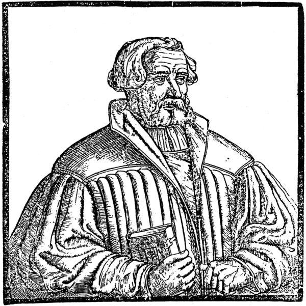 Andreas Bodenstein von Karlstadt, portrait 1541/42
