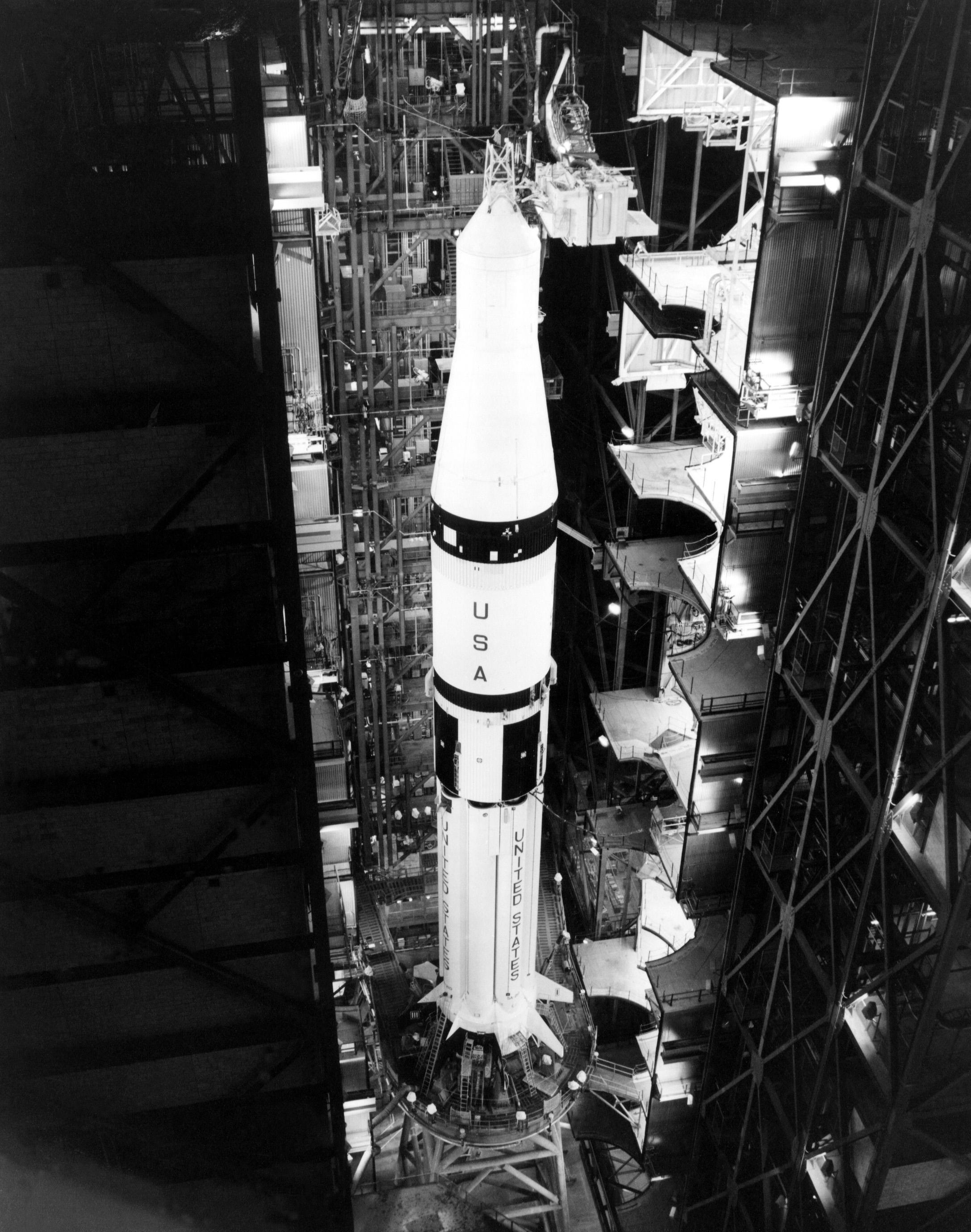 File:Apollo-Soyuz Test Project, Saturn IB with boilerplate ...