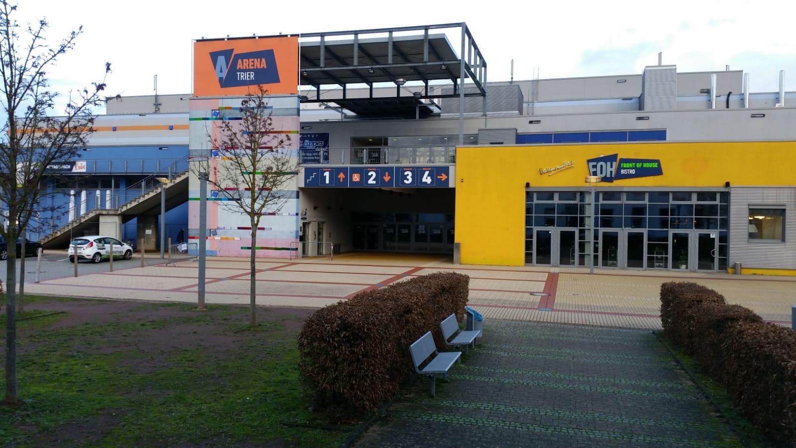 Bildergebnis für arena Trier