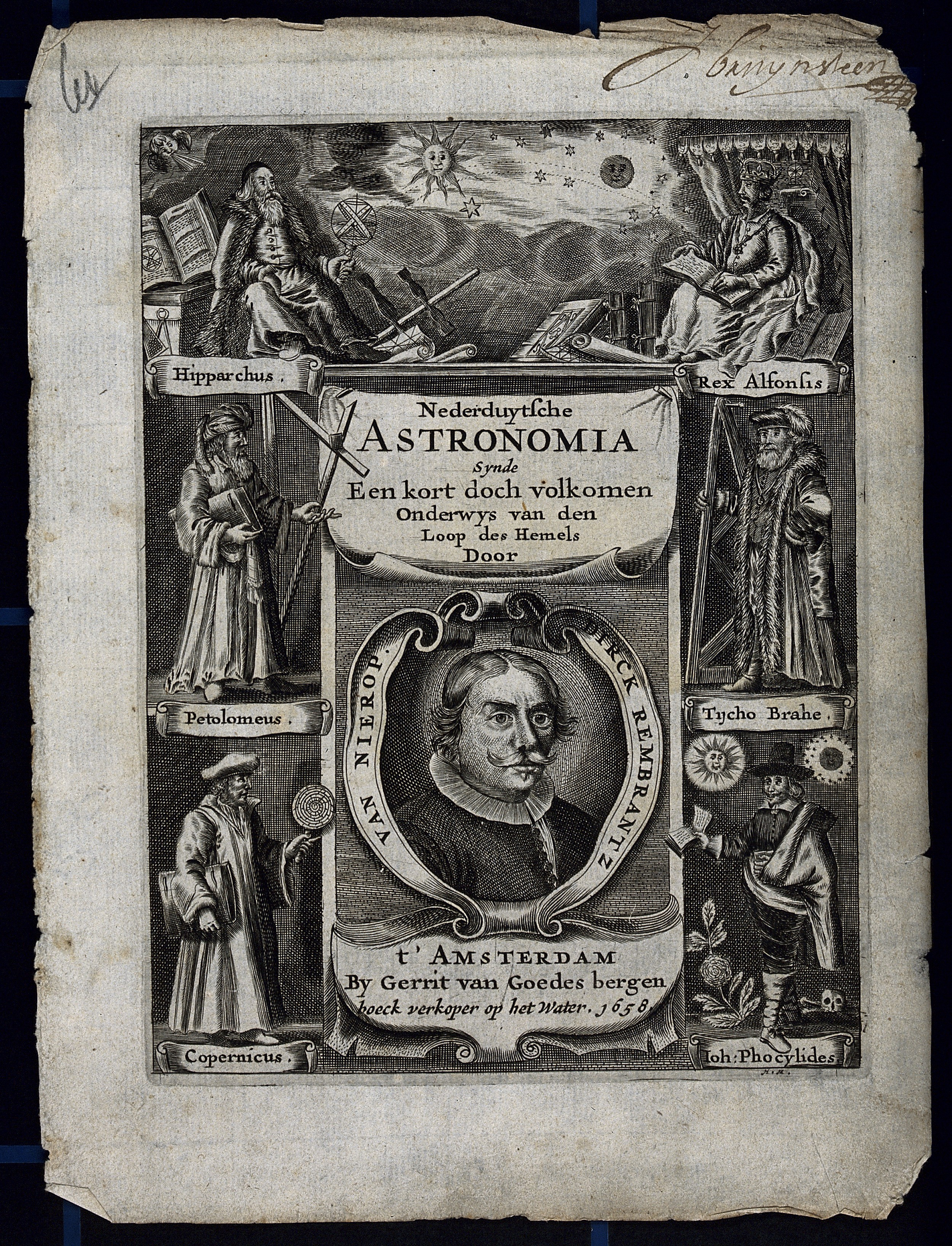 File:Astronomy; the allegorical titlepage to frisicae ...
