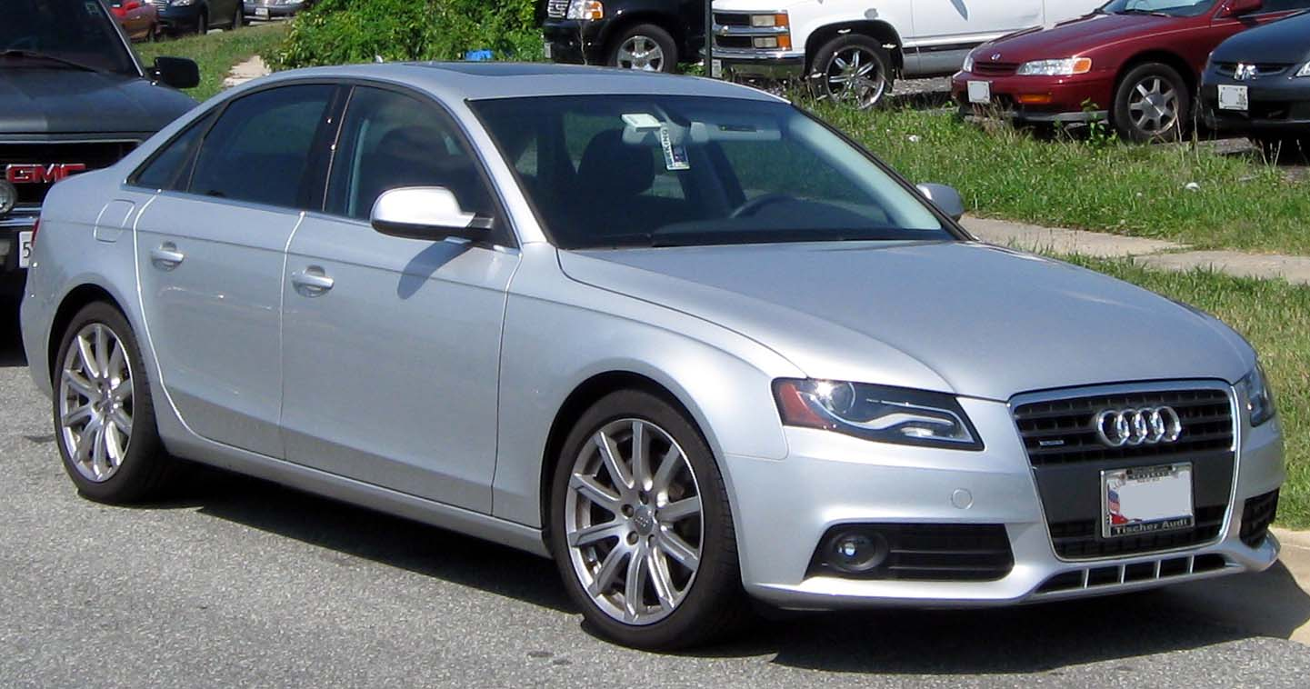File:Audi A4 B8 sedan -- 07-07-2011.jpg - Wikimedia Commons