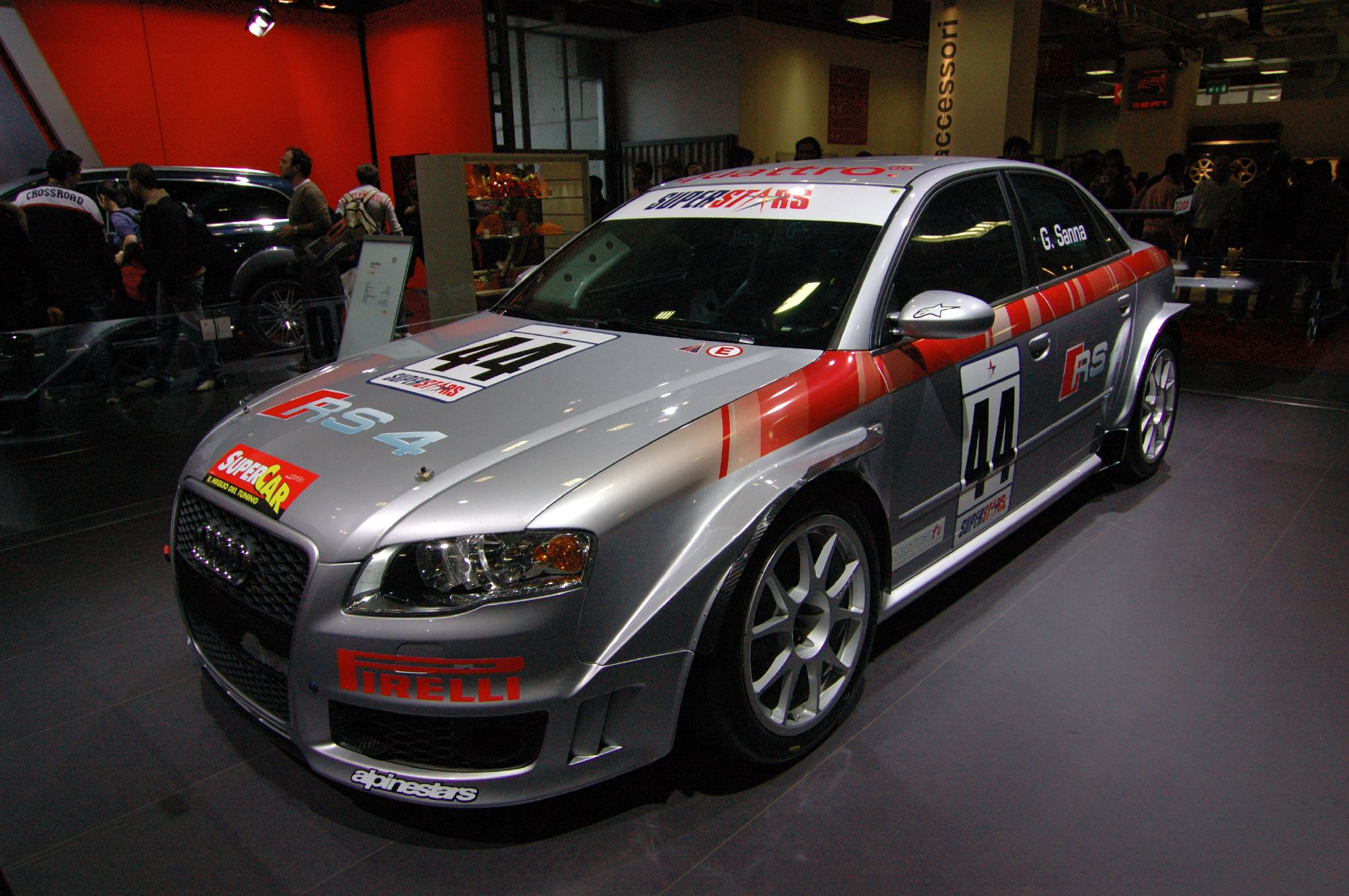 File Audi Rs4 Motorsport Jpg Wikimedia Commons