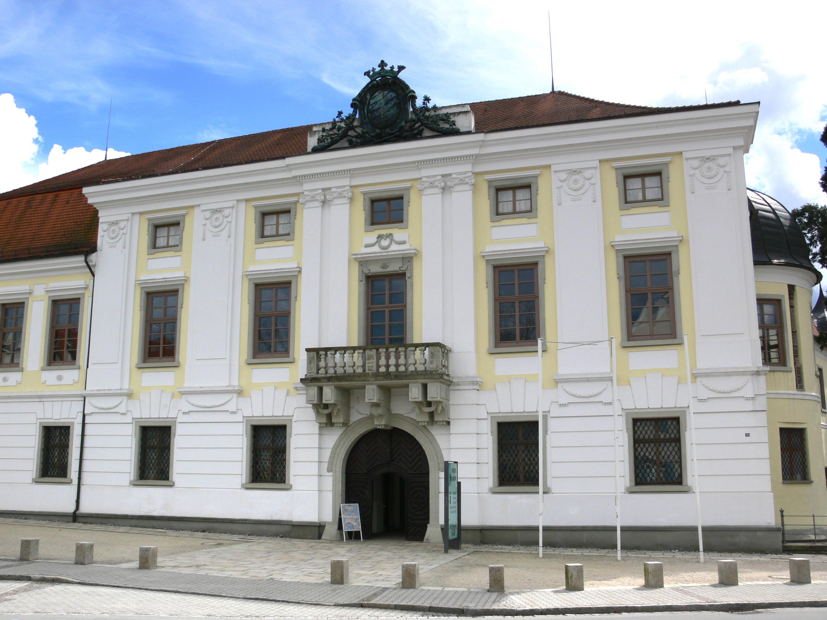 ''Fassade'' von Schloss Aulendorf