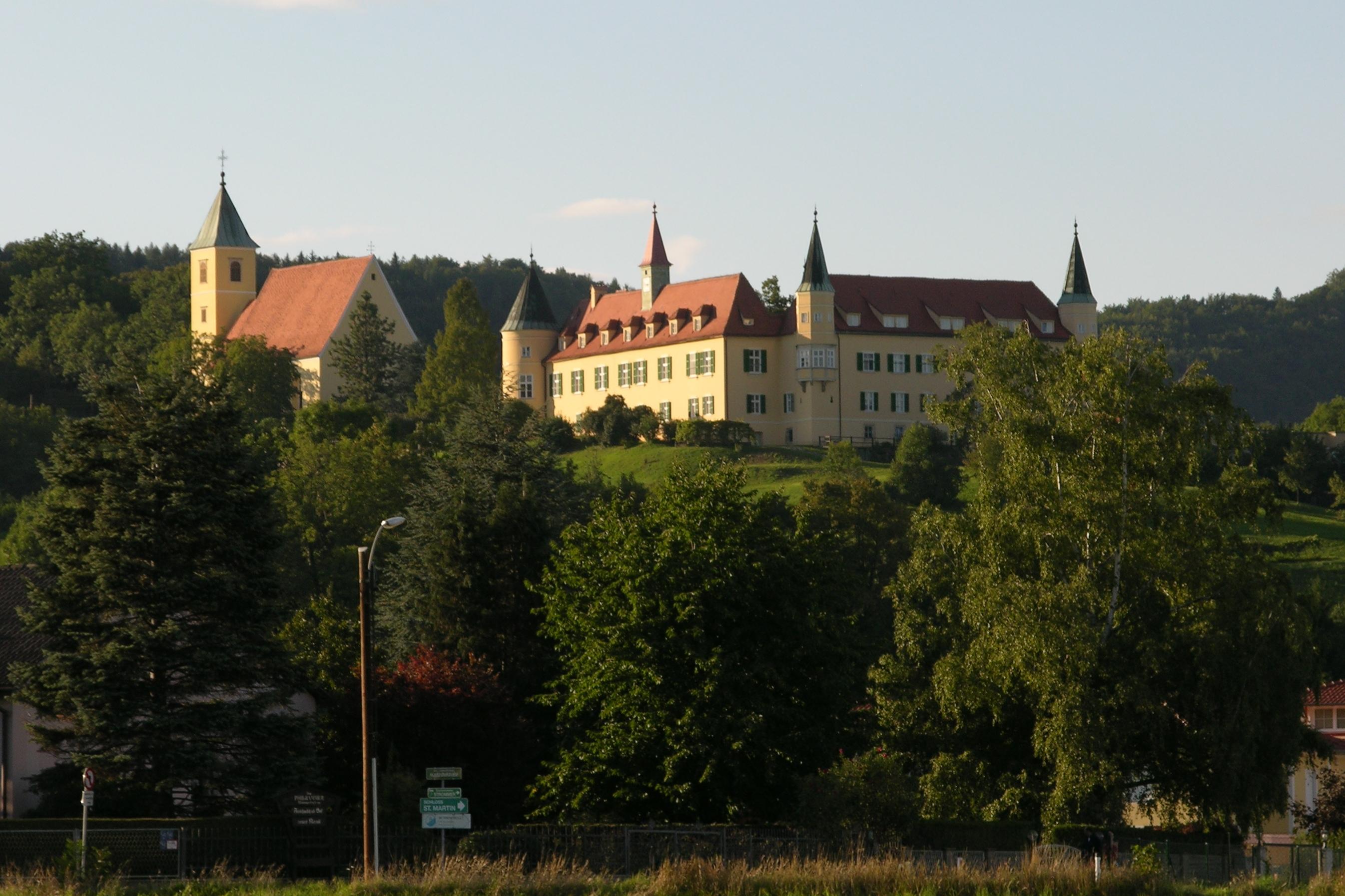 Schloss St. Martin mit Schlosskirche