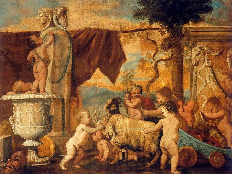 Bacchanalia !  Bacchanale_d'enfants_-_Nicolas_Poussin_-_Palazzo_Barberini