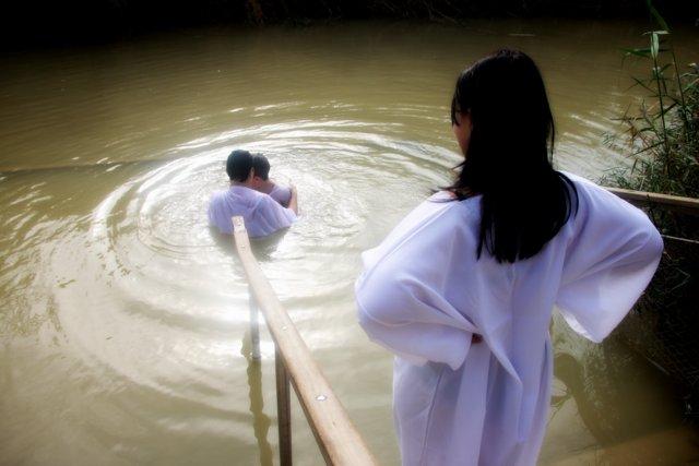 Baptized in the Jordan River