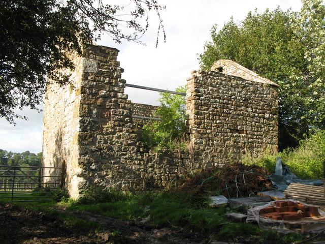 Bastle (remains of ), Upper Denton - geograph.org.uk - 1558617