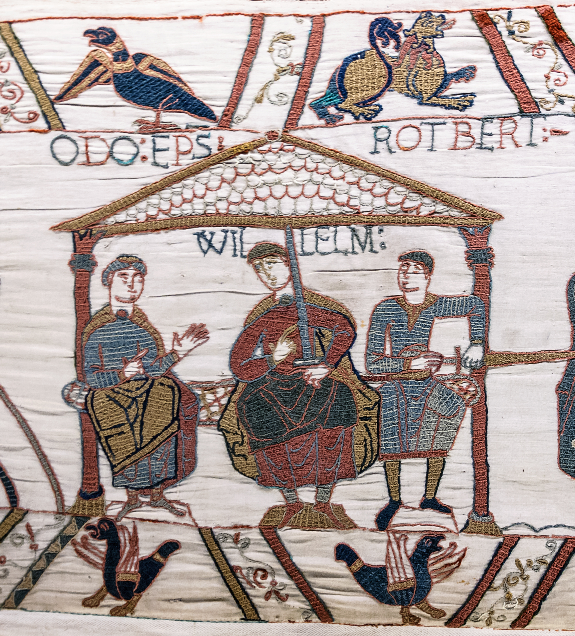FileBayeux Tapestry scene44 William Odo Robertjpg