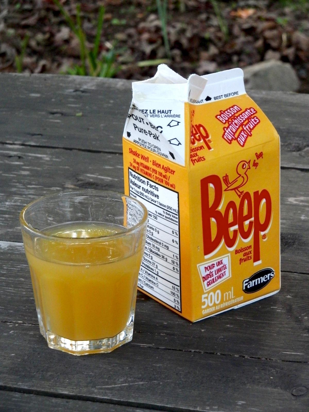 Drink Orange Juice Through Candy Cane